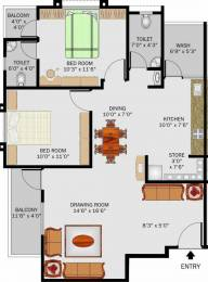 1260 sqft, 2 bhk Apartment in Simandhar Simandhar Status Gota, Ahmedabad at Rs. 35.0000 Lacs