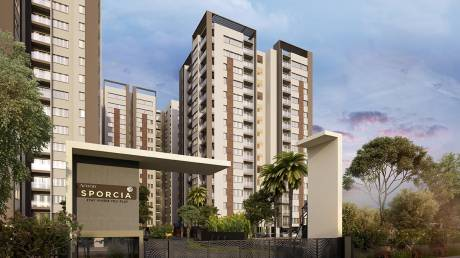 1277 sqft, 2 bhk Apartment in Arvind Sporcia Thanisandra, Bangalore at Rs. 67.0000 Lacs