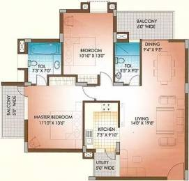 1394 sqft, 2 bhk Apartment in Soul Mayfair Sector 70, Mohali at Rs. 78.0000 Lacs