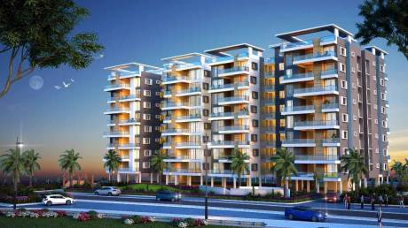 954 sqft, 2 bhk Apartment in Builder symphony city BIT Mesra Road, Ranchi at Rs. 30.0000 Lacs