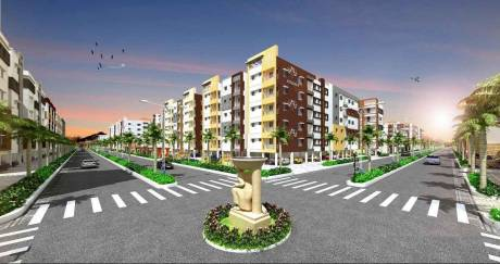 832 sqft, 2 bhk Apartment in Sai Brundavanam Telaprolu, Vijayawada at Rs. 32.0000 Lacs