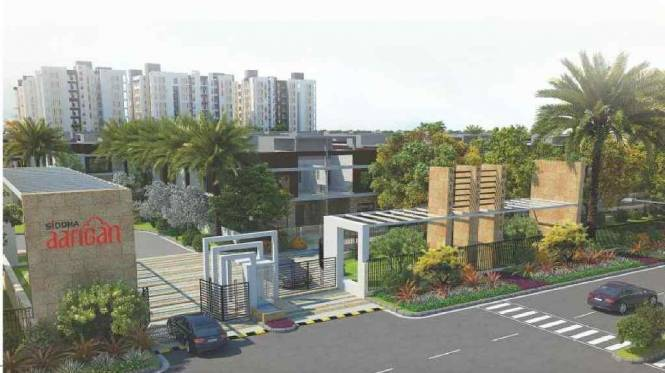 605 sqft, 1 bhk Apartment in Siddha Aangan Bagru, Jaipur at Rs. 13.3760 Lacs