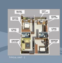 1095 sqft, 2 bhk Apartment in MVS Orchid Chandapura, Bangalore at Rs. 30.0000 Lacs