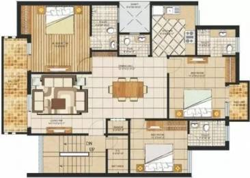 1485 sqft, 3 bhk Apartment in Orchid Island Sector 51, Gurgaon at Rs. 1.0000 Cr