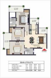 1340 sqft, 3 bhk Apartment in Apex The Kremlin Siddhartha Vihar, Ghaziabad at Rs. 56.0000 Lacs