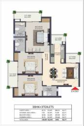 1495 sqft, 3 bhk Apartment in Apex The Kremlin Siddhartha Vihar, Ghaziabad at Rs. 63.0000 Lacs