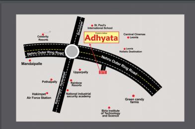 1800 sqft, Plot in Builder PERAM ADITYA ADHYATA near Shamirpet Hyderabad Ramagundam Road, Hyderabad at Rs. 28.0000 Lacs