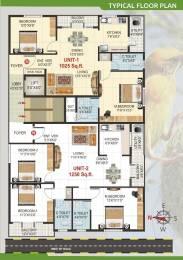 1025 sqft, 2 bhk Apartment in Builder Shivaganga Nest Kumaraswamy Layout, Bangalore at Rs. 49.2000 Lacs