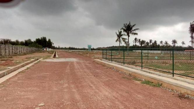 800 sqft, Plot in Builder nisarga white county Hoskote, Bangalore at Rs. 14.0080 Lacs