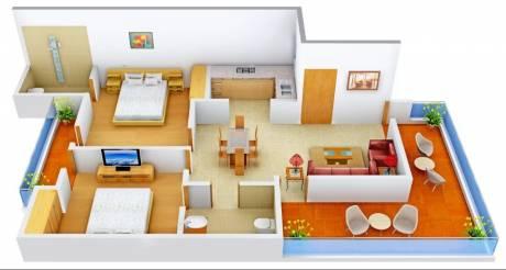 1150 sqft, 2 bhk Apartment in Vision Amari Greens Daun Majra, Mohali at Rs. 11000