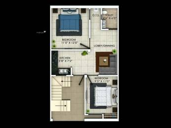 1000 sqft, 2 bhk Villa in Builder Zama infra Kanpur Lucknow Road, Lucknow at Rs. 16.0000 Lacs