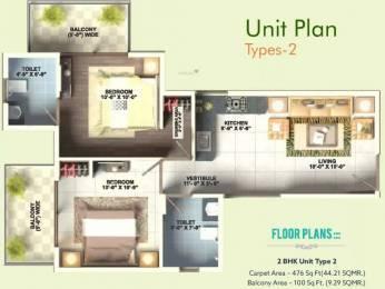 618 sqft, 2 bhk Apartment in GLS Arawali Homes Sector 5 Sohna, Gurgaon at Rs. 19.9100 Lacs