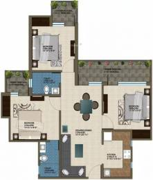 1230 sqft, 3 bhk Apartment in Krish Aura Sector 18 Bhiwadi, Bhiwadi at Rs. 45.0000 Lacs
