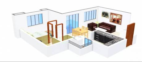 727 sqft, 1 bhk Apartment in Hrutviin Unnati Avenue Kondhwa, Pune at Rs. 38.0000 Lacs