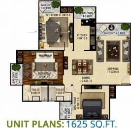 1625 sqft, 3 bhk Apartment in The Antriksh Eco Homes Zone L Dwarka, Delhi at Rs. 64.0000 Lacs