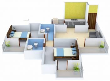 970 sqft, 2 bhk Apartment in Elegant Elegant Ville Techzone 4, Greater Noida at Rs. 32.0000 Lacs