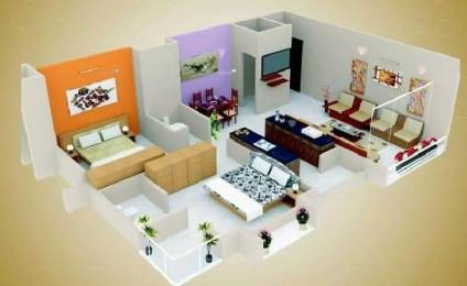 1053 sqft, 2 bhk Apartment in Unique Essenza Chanakyapuri, Ahmedabad at Rs. 65.0000 Lacs