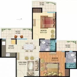 1185 sqft, 2 bhk Apartment in Angel Jupiter Ahinsa Khand 2, Ghaziabad at Rs. 16000