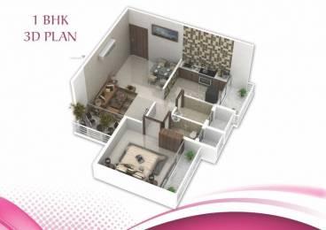 697 sqft, 1 bhk Apartment in Hari Om Nirmal Ulwe, Mumbai at Rs. 45.0000 Lacs