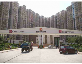 1150 sqft, 2 bhk Apartment in Supertech CapeTown Sector 74, Noida at Rs. 14000