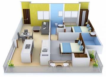 1090 sqft, 2 bhk Apartment in Ace City Sector 1 Noida Extension, Greater Noida at Rs. 7000
