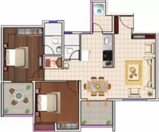 1060 sqft, 2 bhk Apartment in Siddhivinayak Echoing Greens Wakad, Pune at Rs. 17000