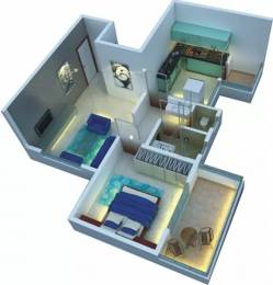650 sqft, 1 bhk Apartment in NSG The Royal Mirage Wakad, Pune at Rs. 42.0000 Lacs