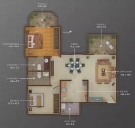 1081 sqft, 2 bhk Apartment in Atul Alcove Pimple Saudagar, Pune at Rs. 19000