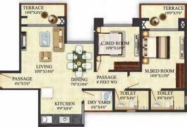 999 sqft, 2 bhk Apartment in Puraniks Aldea Anexo Baner, Pune at Rs. 65.0000 Lacs