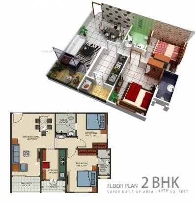 1173 sqft, 2 bhk Apartment in Builder century park ashrita builders Rajendra Nagar, Indore at Rs. 33.0000 Lacs