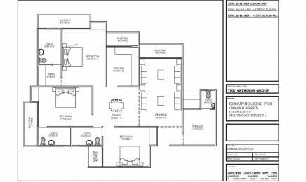 1175 sqft, 3 bhk Apartment in Builder New delhi awas yojna 2 Zone L Dwarka, Delhi at Rs. 51.7000 Lacs