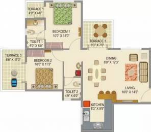 949 sqft, 2 bhk Apartment in Mont Vert Seville Wakad, Pune at Rs. 65.0000 Lacs