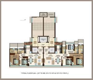 1424 sqft, 3 bhk Apartment in Kanakia Miami Mahim, Mumbai at Rs. 6.5000 Cr