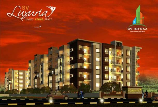 885 sqft, 2 bhk Apartment in SV Luxuria Talaghattapura, Bangalore at Rs. 34.5000 Lacs