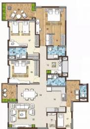 2050 sqft, 3 bhk Apartment in G Corp The Icon Thanisandra, Bangalore at Rs. 1.4500 Cr