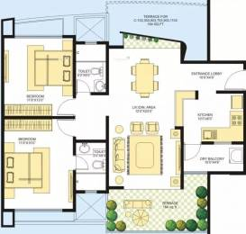 1347 sqft, 2 bhk Apartment in Marvel Azure Hadapsar, Pune at Rs. 95.0000 Lacs