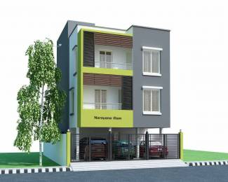 851 sqft, 2 bhk Apartment in Builder Project Nanganallur, Chennai at Rs. 63.8250 Lacs