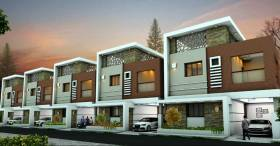 1,084 sq ft 2 BHK + 2T Villa in Builder ramana gardenz