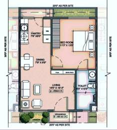 601 sqft, 1 bhk Apartment in Serene Hub Villas Tiruporur Near Kelambakkam, Chennai at Rs. 38.0000 Lacs