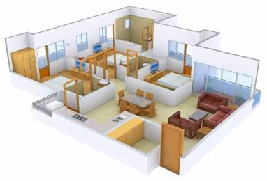 1590 sqft, 3 bhk Apartment in Panchsheel Greens Sector 16B Noida Extension, Greater Noida at Rs. 14000