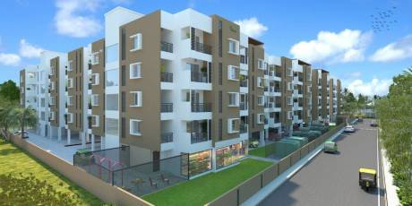 1100 sqft, 2 bhk Apartment in Sowparnika Tharangini Volagerekallahalli, Bangalore at Rs. 32.0000 Lacs