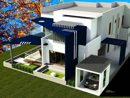 1350 sqft, 3 bhk Villa in Builder RJR HILLTOP ESTATES AERIAL TOWNSHIP Srisailam Highway, Hyderabad at Rs. 30.0000 Lacs