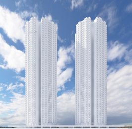 820 sqft, 2 bhk Apartment in Dynamix Parkwoods Thane West, Mumbai at Rs. 1.1500 Cr