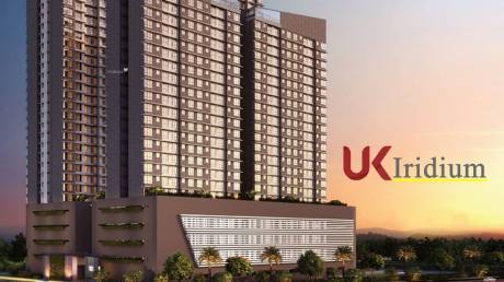 627 sqft, 1 bhk Apartment in UK Iridium Kandivali East, Mumbai at Rs. 72.0000 Lacs