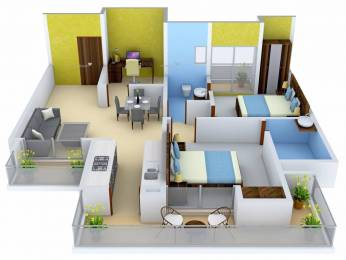 1325 sqft, 2 bhk Apartment in Ace City Sector 1 Noida Extension, Greater Noida at Rs. 20000