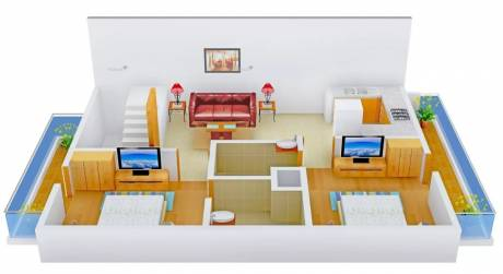 1050 sqft, 2 bhk Apartment in ACME Floors Sector 111 Mohali, Mohali at Rs. 25.0000 Lacs