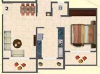 590 sqft, 1 bhk Apartment in Tharwani Ariana Ambernath West, Mumbai at Rs. 4500