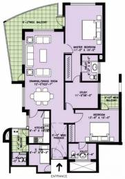 1753 sqft, 2 bhk Apartment in Spaze Privy Sector 72, Gurgaon at Rs. 33000