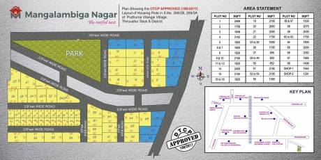 600 sqft, Plot in Builder Mangalambiga Nagar Tiruvallur, Chennai at Rs. 3.0540 Lacs