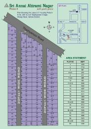 1000 sqft, Plot in Builder Sri Annai Abirami Nagar Arcot Road, Vellore at Rs. 3.9900 Lacs